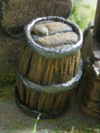 Barrels, small (9 pieces)