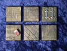 Bases Wooden floor (6 pieces)