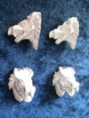 Dragonheads (4 pieces)