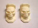 Wall-Antic `Skull� (2 pieces)