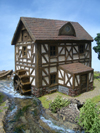 Water mill (constr. kit)