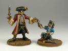 Captain Blackbeard and Jimmy Orphan