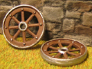 Spoke wheels (4 small ones)
